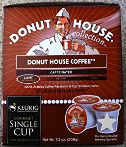 Green Mountain Donut House Regular Coffee For Keurig Brewers 24 K-cups 2 Pack from Green Mountain