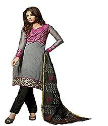Fashiondiya Antra Chanderi Top, Cotton Print Bottom, Banarasi Foil Dupatta