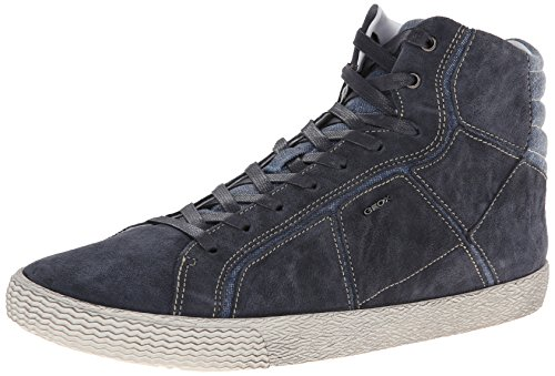 Geox Men's U Smart 37 Fashion Sneaker,Navy,42 EU/9 M US