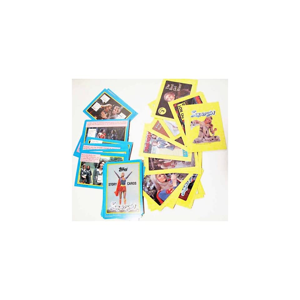 Story Cards Complete Set Topps Trading Card Set (CT 44) Helen Slater