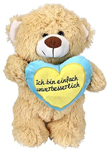 Plüsch Teddy mit Herz