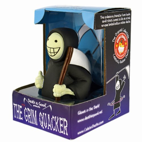 The Death Is Good 'Not-So Grim' Quacker Rubber Duck: Limited Edition Celebriduck