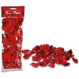 100 Rosenblätter aus Stoff rot bordeaux dunkelrot Hochzeit Streublumen Blumenkinder Rosenblüten Tischdeko