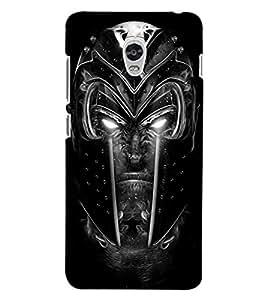 ColourCraft Scary Face Design Back Case Cover for LENOVO VIBE P1