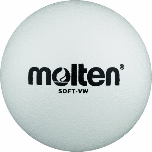 Molten Softball Volleyball Soft-VW, Weiß, Ø 210 mm