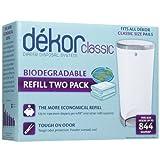 Diaper Dekor Refills - Biodegradable (2 Pack) - Regular(Classic)