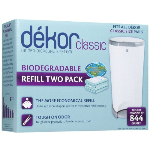 Diaper Dekor Refills - Biodegradable - Regular(Classic) - 1