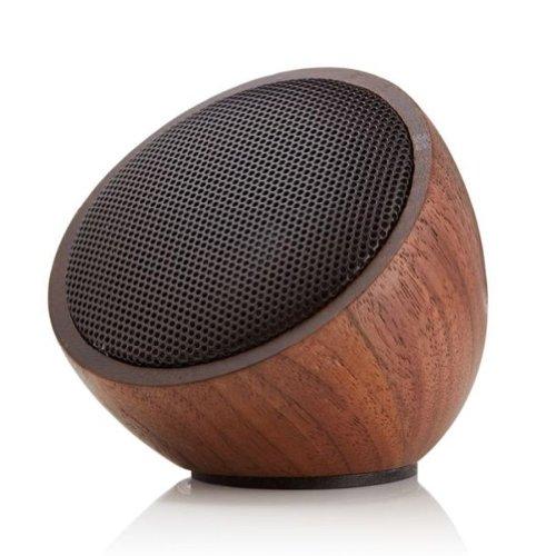 Triple C Walnut Wood Bluboom Bluetooth Portable Speaker