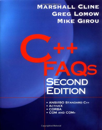 Image for C++ FAQs (2nd Edition)