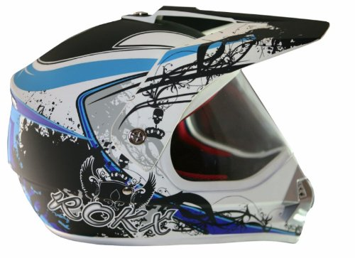 ROKX - Casque Street Cross Arctic Blue S