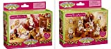 Calico Critters Country Treehouse Dining Room Bedroom 2 Furniture Sets