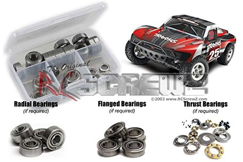 RCScrewZ Traxxas Slash 2wd Metal Shielded Bearing Kit #tra033b (Traxxas Slash 2wd Parts compare prices)