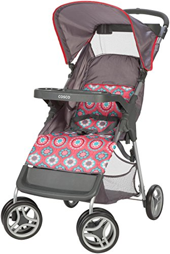 Cosco Lift and Stroll Convenience Stroller, Posey Pop