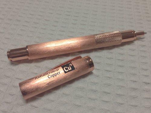 抗菌銅ボールペン(キャップ式) Antimicrobial Copper(Cu+)認定