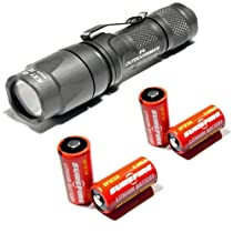 Surefire E1L Outdoorsman E1L-HA-WH 3V LED Flashlight with Batteries