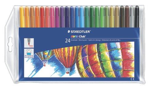 staedtler-noris-club-juego-de-rotuladores-24-unidades-varios-colores