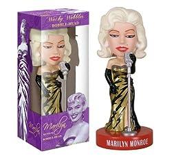 Marilyn Monroe Singer Bobblehead wacky wobbler