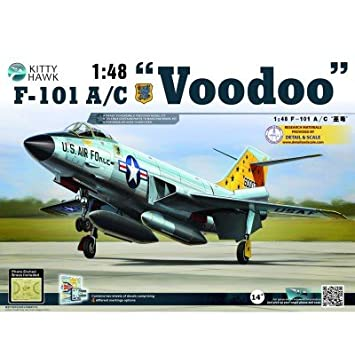 "Maquette avion : McDonnell F-101 ""Voodoo"""