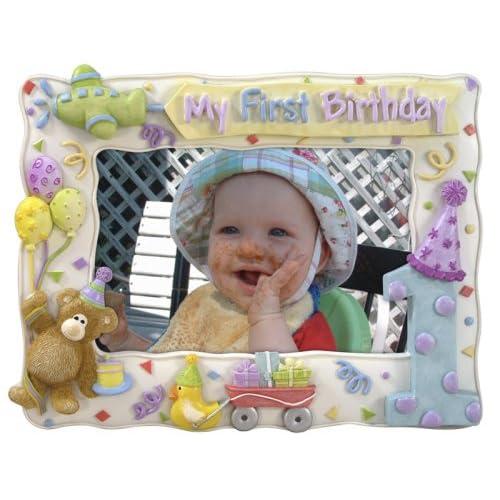 Amazon.com : Malden My First Birthday Picture Frame : Baby Keepsake