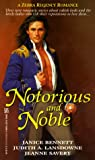 img - for Notorious And Noble (Zebra Regency Romance) book / textbook / text book