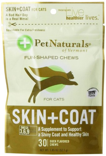 Pet Naturals Skin & Coat Support For Cats (30 Count)