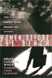 img - for Women Before the Bench (an anthology) book / textbook / text book