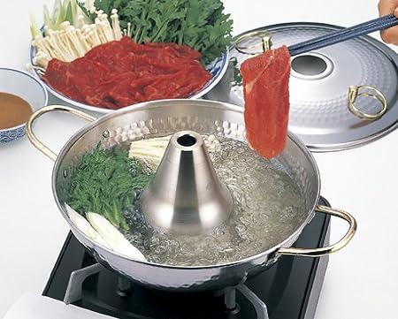 暖楽鍋 ステンレスしゃぶしゃぶ鍋 26cm DR-4222
