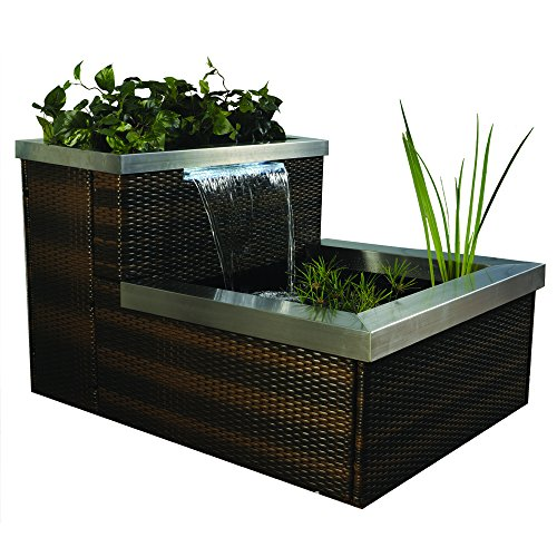 Pond Boss PPIBRW45 Patio Pond Rattan picture