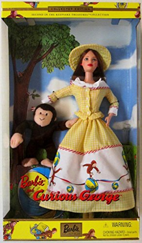 2000 Barbie Collectibles - Barbie and Curious George