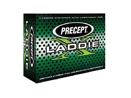 Precept Golfbälle Laddie X, White