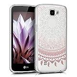 kwmobile Crystal Case Hülle für LG K4 LTE - TPU Silikon