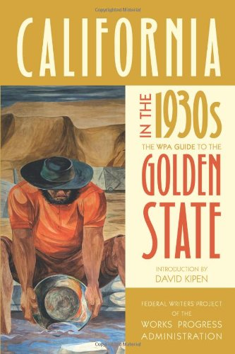 California In The 1930S: The Wpa Guide To The Golden State front-761377