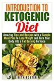 Introduction to Ketogenic Diet: Amazing Tips and Recipes with a Sample Meal Plan to Lose Weight and Turn Your Body into a Fat Burning Furnace (Weight Loss & Healthy Recipes)