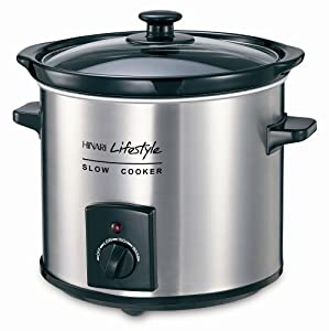 Hinari SC395SS Lifestyle 3.5 L Slow Cooker