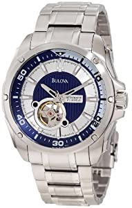 Bulova Men's 96A137 Self-Winding Mechanical Bracelet Watch