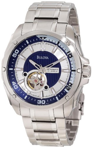 Bulova Men's 96A137 Self-Winding Mechanical Bracelet Watch