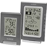 La Crosse Technology Combo11-IT Atomic Weather Combo Pack With Wireless Forecast Station And Small Temperature...