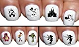 Sassy-nailz Superset Disney Nail Art Waterslide Decals Transfers