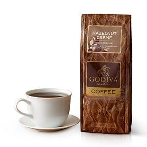 Godiva Chocolatier Candy, Hazelnut Creme Coffee