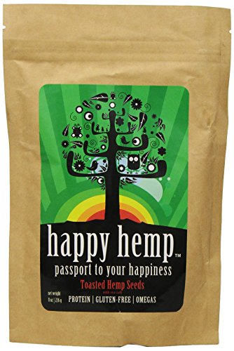 Happy Hemp Toasted Seeds, 8 Ounce