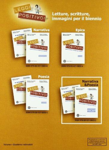Libro leggi positivo letture scritture immagini poesia for Leggi libri online