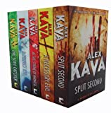 Alex Kava Alex Kava 5 Books Collection Set RRP  34.95 (The Soul Catcher, Split Second, A Necessary Evil , At the Stroke of Madness, A Perfect Evil,)