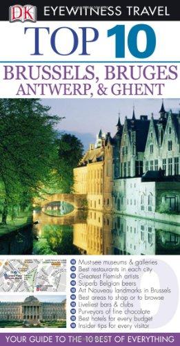 Top 10 Brussels (Eyewitness Top 10 Travel Guides)