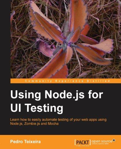 Using Node.Js For Ui Testing