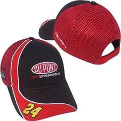 Buy Jeff Gordon #24 DuPont Nascar Cap Trackside Series by Motorsport Authentics