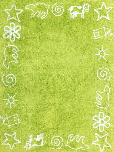 Nskfm aratextil alfombra infantil 100 algod n lavable en - Alfombra infantil lavable ...