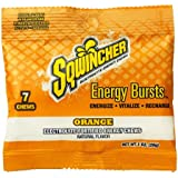 Sqwincher Electrolyte Chews, Fortified Energy Burst Pouch, Orange Flavor 010370-OR 7 (Box of 12)