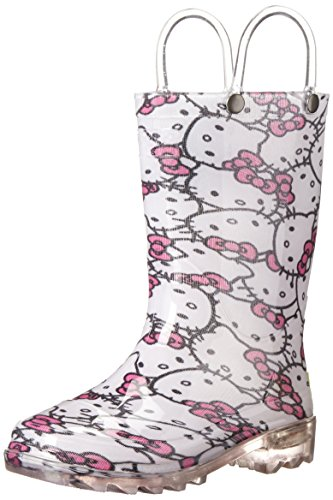 Western-Chief-Kids-Hello-Kitty-Glitter-Light-Up-Rain-BootToddlerLittle-Kid