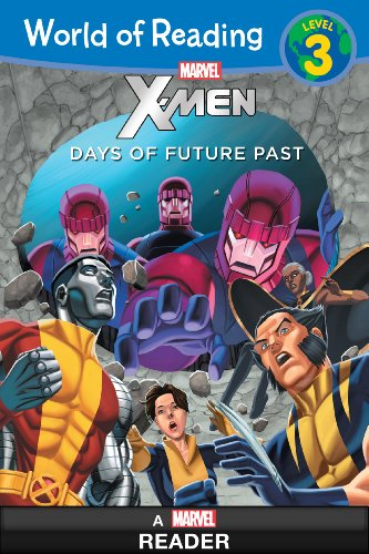 Marvel Press - World of Reading X-Men: Days of Future Past