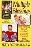 img - for Multiple Blessings by Rothbart, Betty (1994) Paperback book / textbook / text book